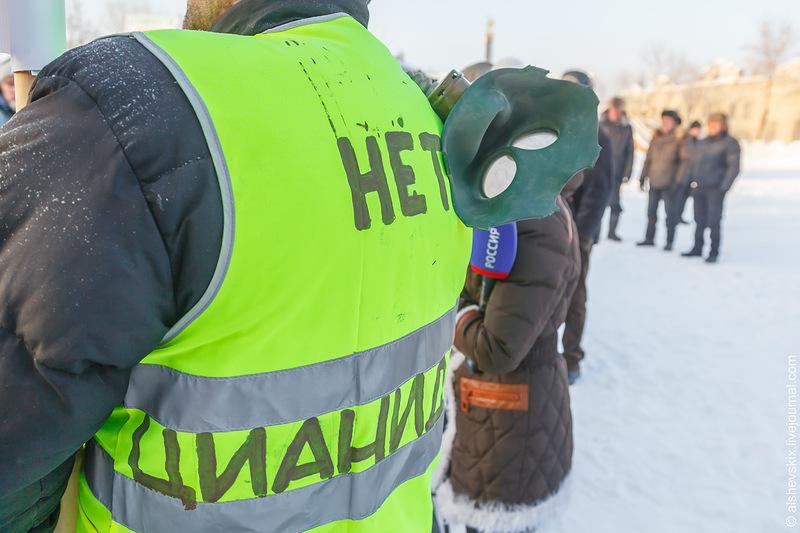 В Невьянске прошел митинг против золотодобытчиков