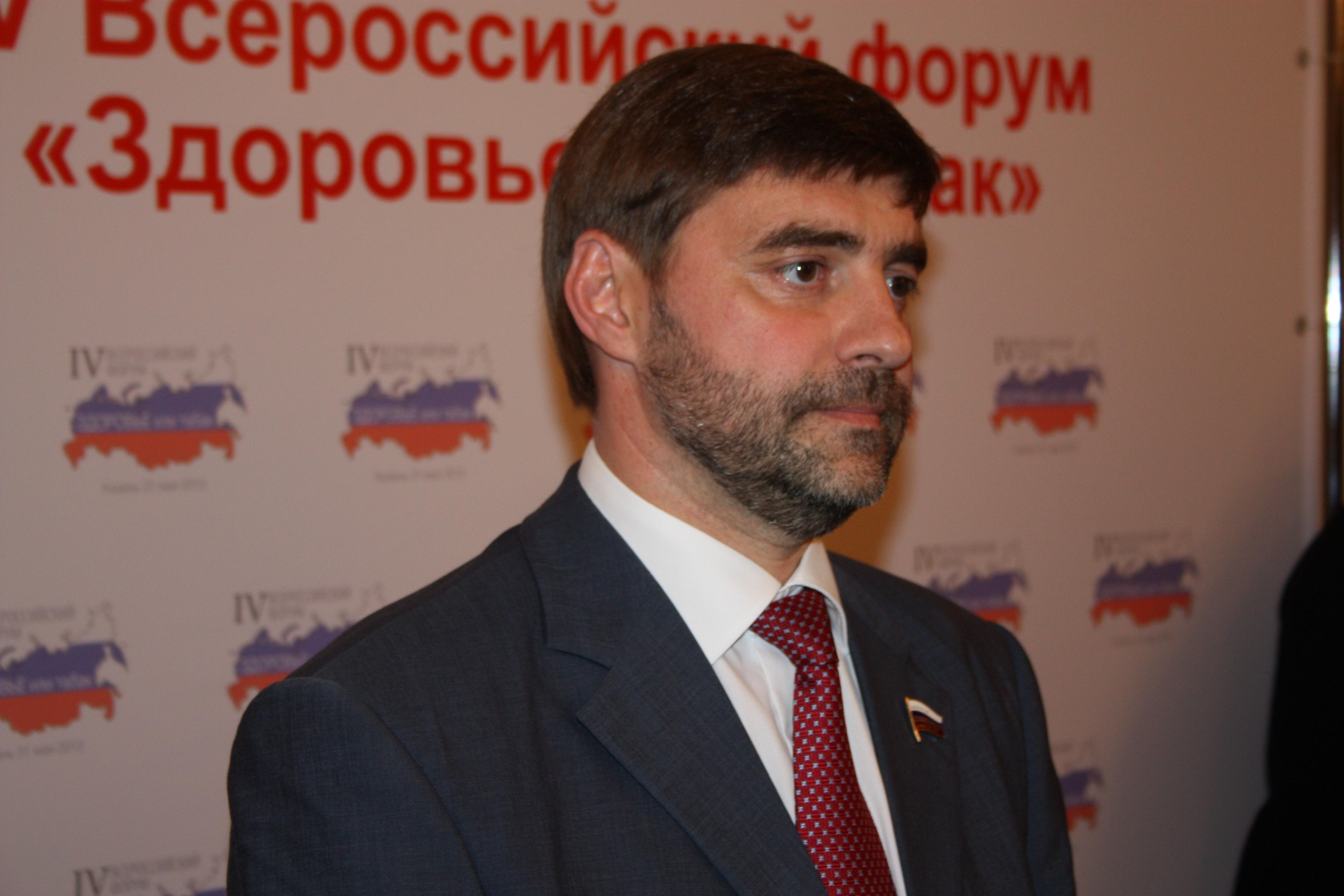 Сергей Железняк: «В Госдуме теперь есть одна курилка, и та на улице»