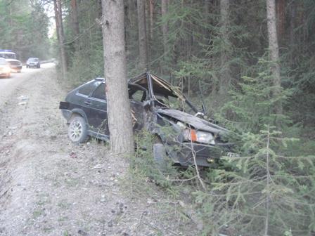 В аварии под Североуральском погибла женщина