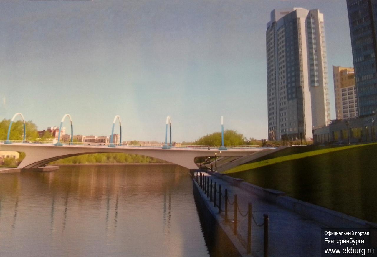 Екатеринбуржцев зовут обсудить мост через Исеть из Заречного в центр