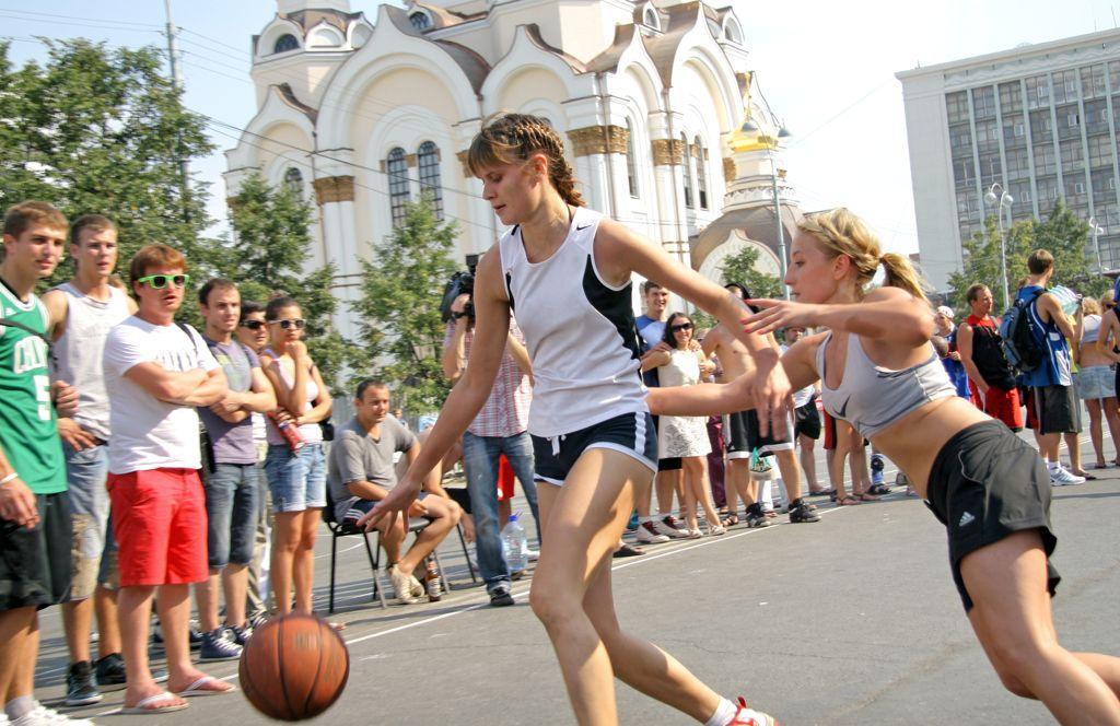 Екатеринбург сыграл в «Оранжевый мяч»