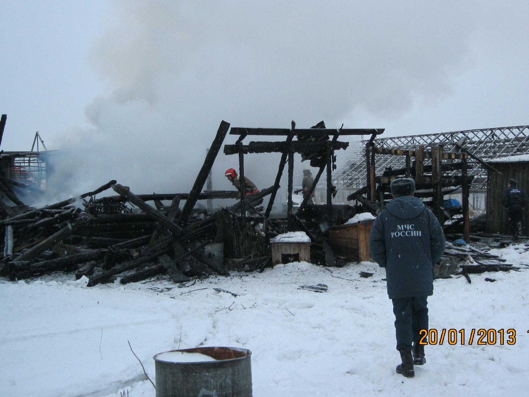 Виновник гибели восьми рабочих на пожаре в поселке Садовый отправился в колонию