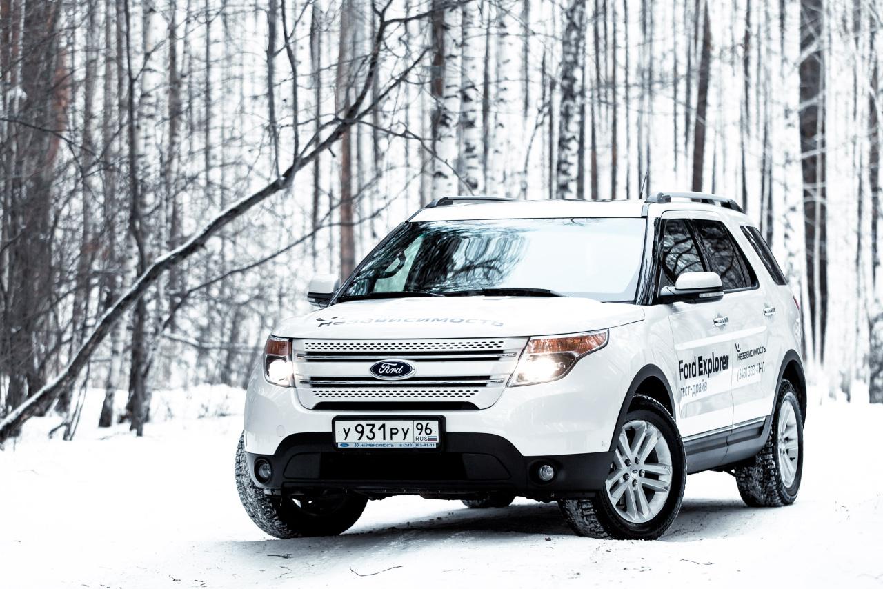 Ford Explorer: прорубая окно в Европу