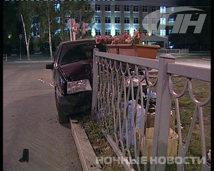Пьяный водитель бегал от полиции после ДТП на Волгоградской