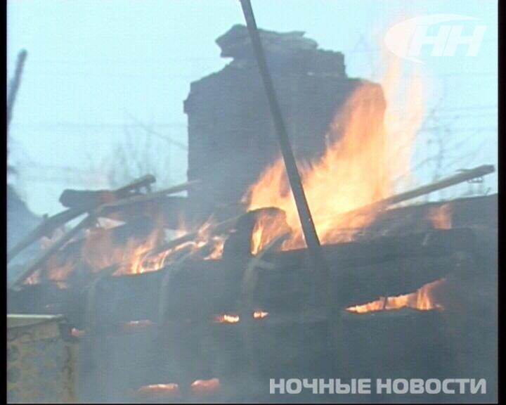 В коллективном саду на Елизавете сгорели три дома