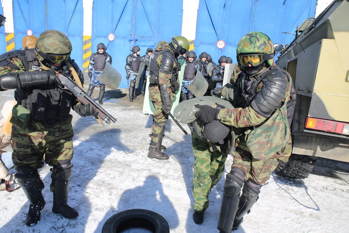 Бойня в дыму. Сотрудники ГУФСИН подавили условные беспорядки в тюрьме