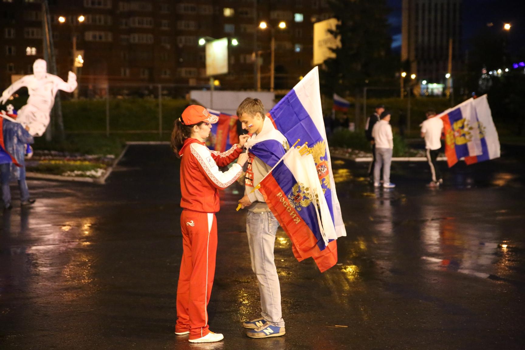 Без людей — лучше: тестируем фан-зону на матче Россия — Алжир