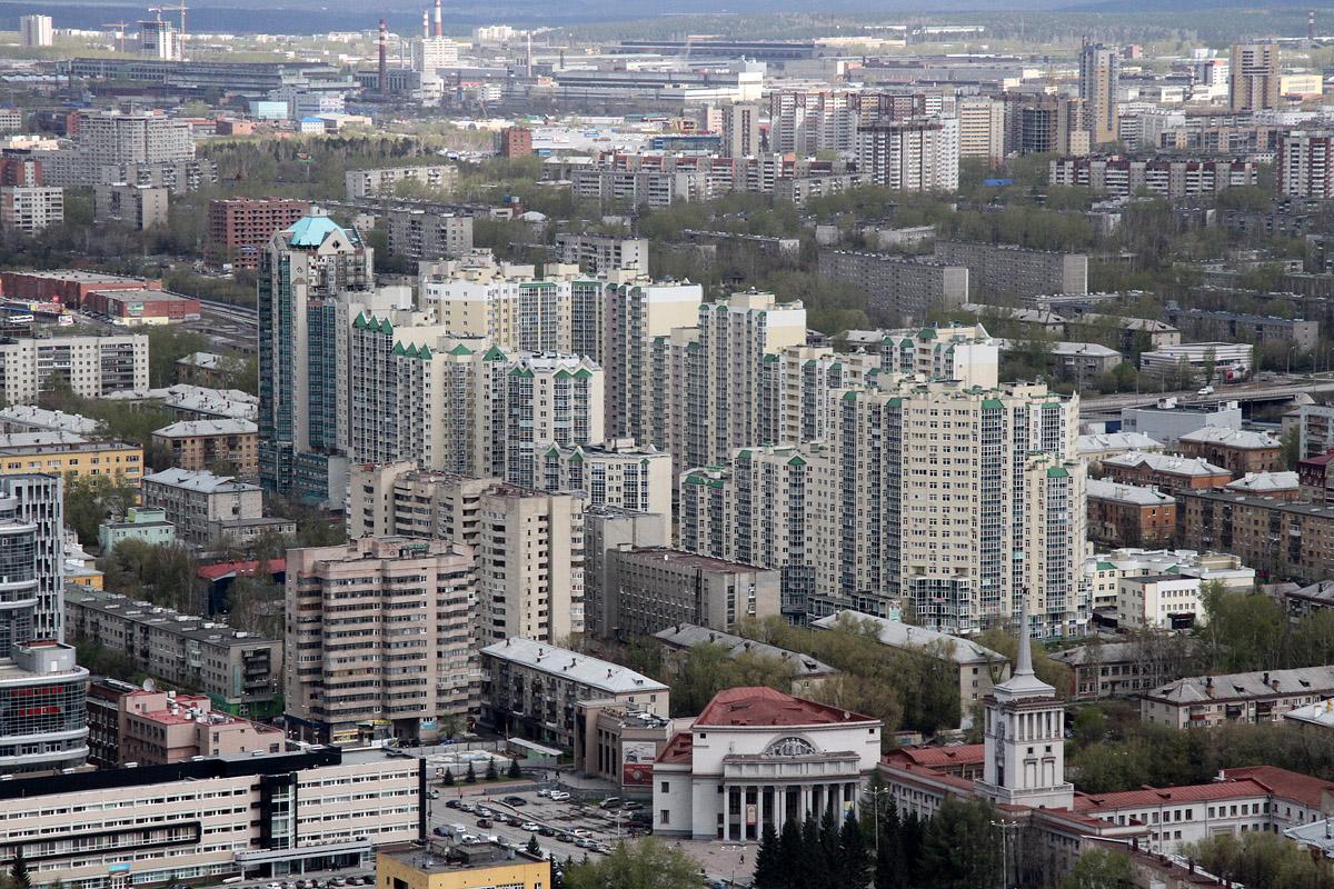 Екатеринбург лидирует по количеству высоток среди региональных городов