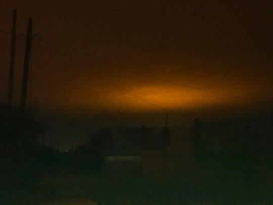 В небе над Челябинском засняли очередное НЛО