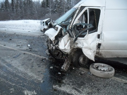 В аварии на Пермском тракте сегодня погибли 2 человека