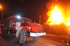 В Краснотурьинске при пожаре в гараже погиб мужчина