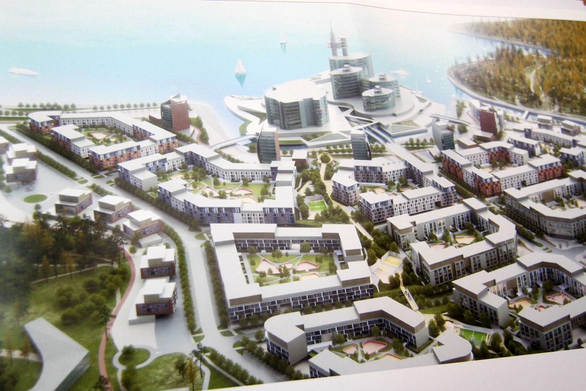 На озере Исетском построят искусственный остров