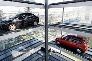 В Екатеринбурге хотят строить парковки по-корейски