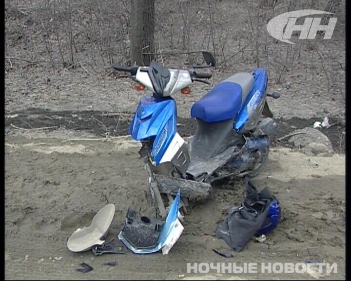 Водитель мопеда впал в кому после ДТП с Toyota на Сибирском тракте