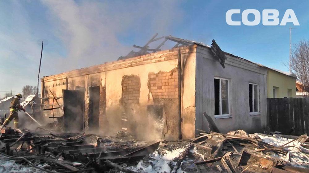 Утром на Широкой Речке горел частный дом. Двое детей погибли