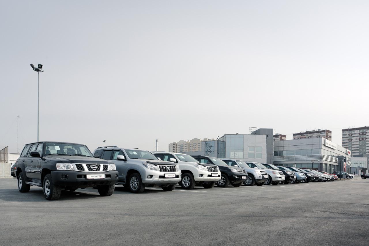 Урал отстает по автомобилизации от центра и Дальнего Востока