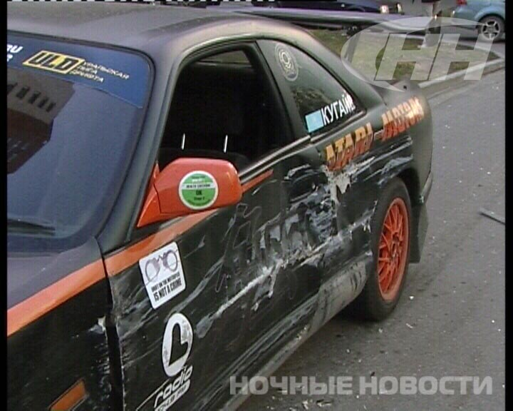 Казахстанский автогонщик попал в аварию на Шаумяна