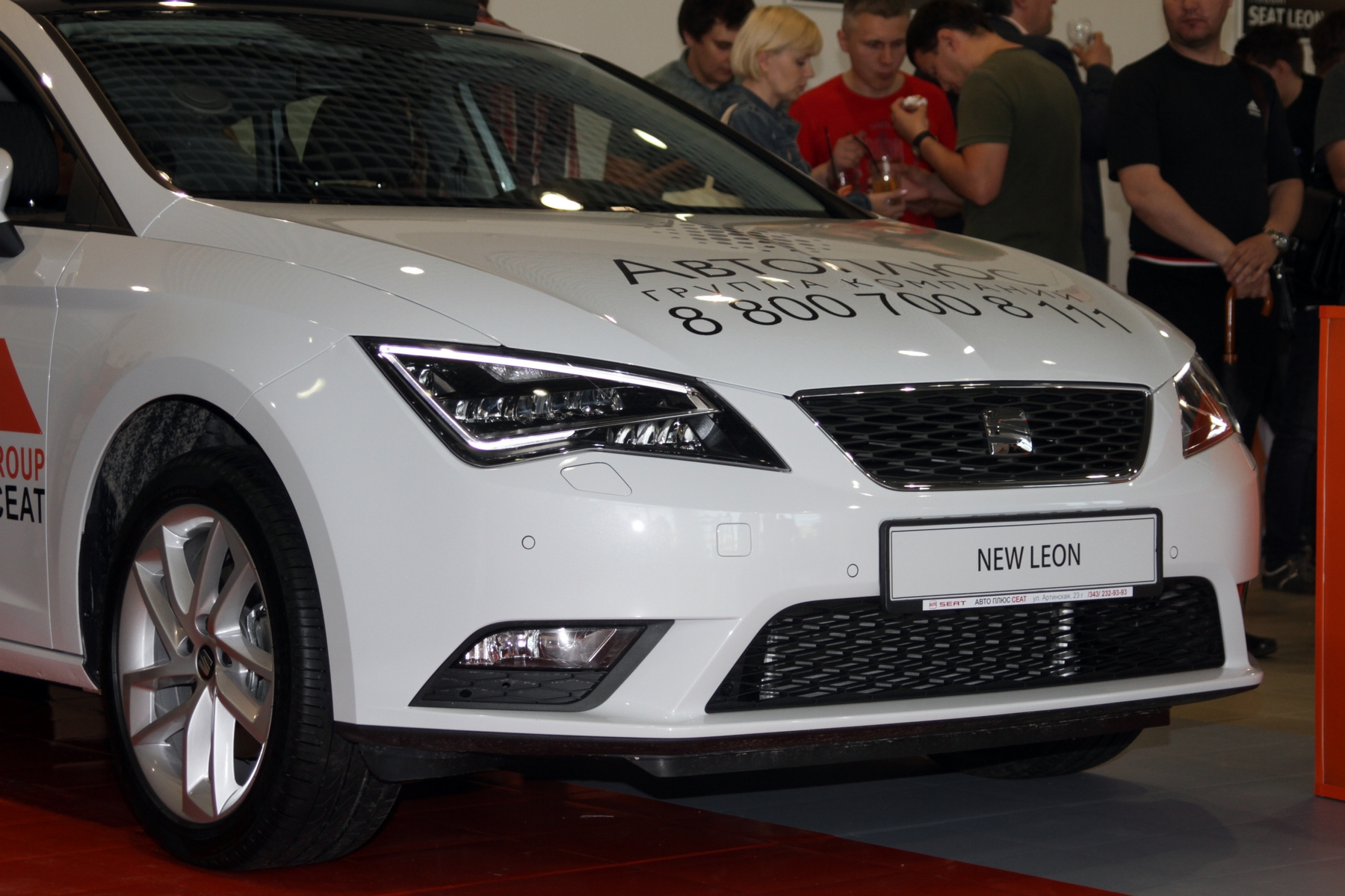 «Почти как Ауди»: Екатеринбургу показали новый SEAT Leon