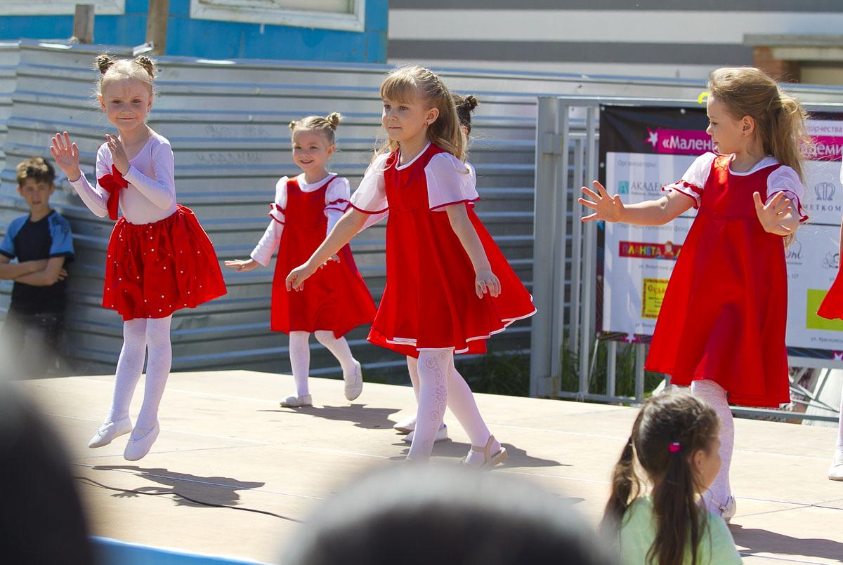 В День защиты детей в Академическом выбрали маленькую мисс