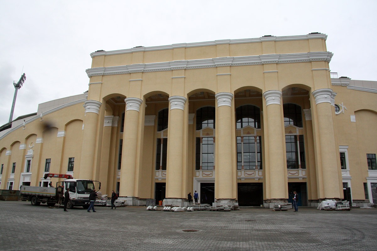 Реконструкцию Центрального стадиона впишут в Генплан
