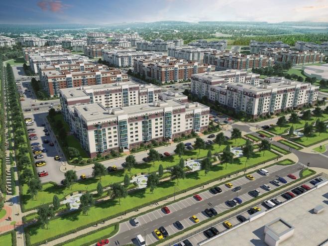 На юге Екатеринбурга началось возведение «второго Академического»