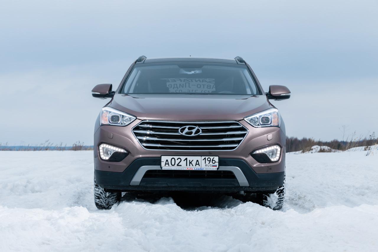 И десять сантиметров в придачу: тестируем новый Hyundai Grand Santa Fe