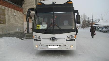 В Пышме пенсионер угодил под междугородний автобус