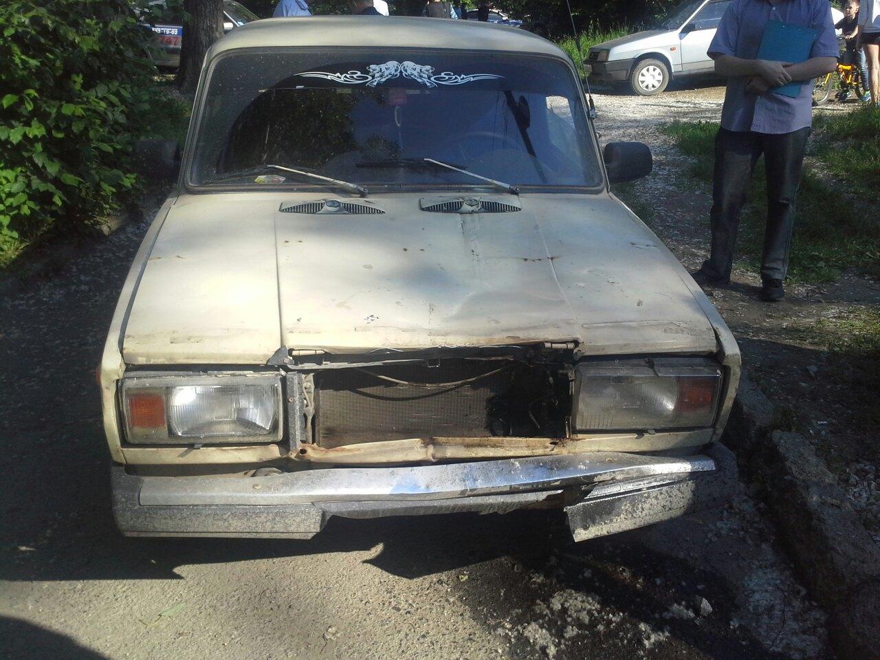 Водителя, сбившего насмерть ребенка на Эльмаше, избили очевидцы