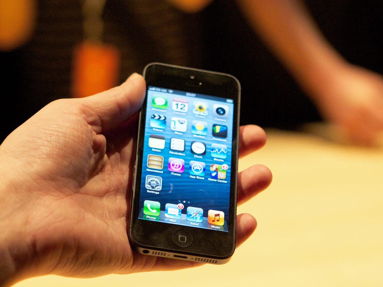 Apple представила iPhone пятого поколения