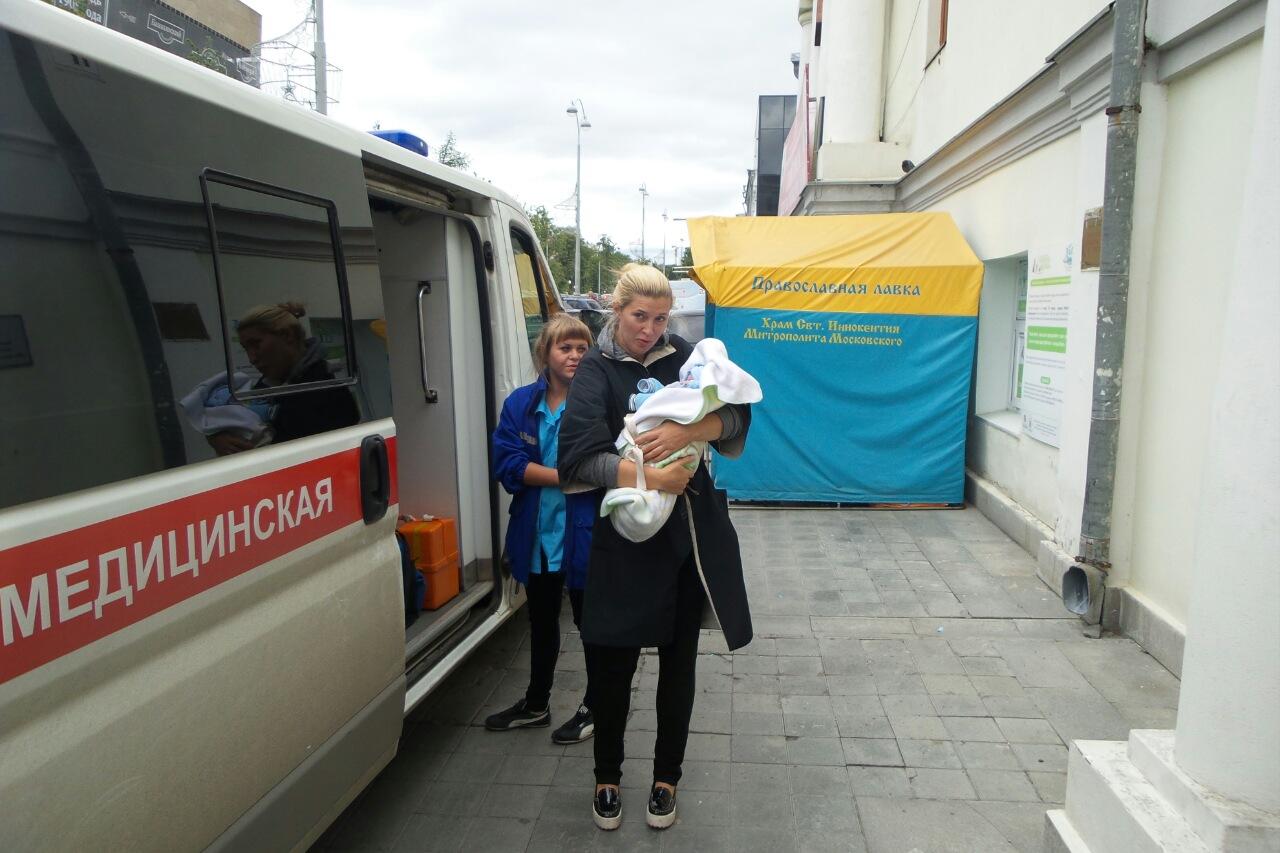 В екатеринбургский беби-бокс подкинули первого ребенка