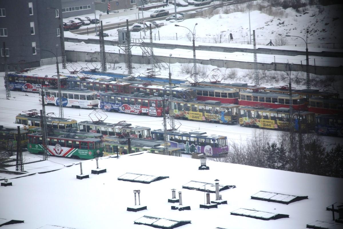 Ограбленные трамваи Западному депо обошлись в 180 тысяч рублей