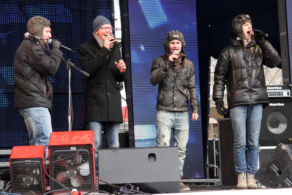 Уральские танкисты встретили свой праздник под напевы шансонье