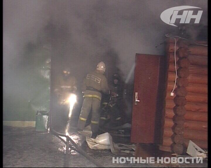 Из-за пожара на Татищева спасателям пришлось перекрыть дорогу