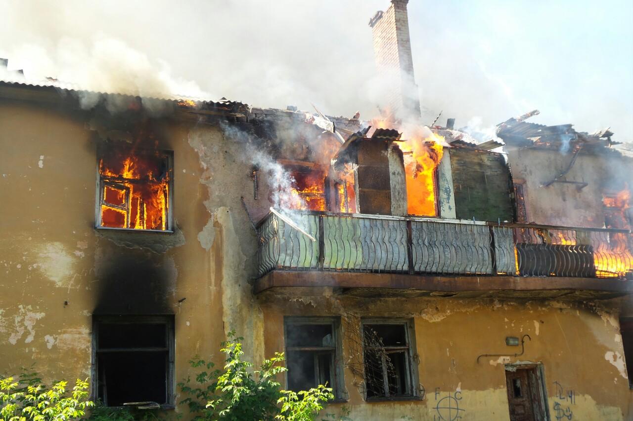 Подфартило! Сгоревший на улице Белинского барак через 5 дней уйдет с молотка