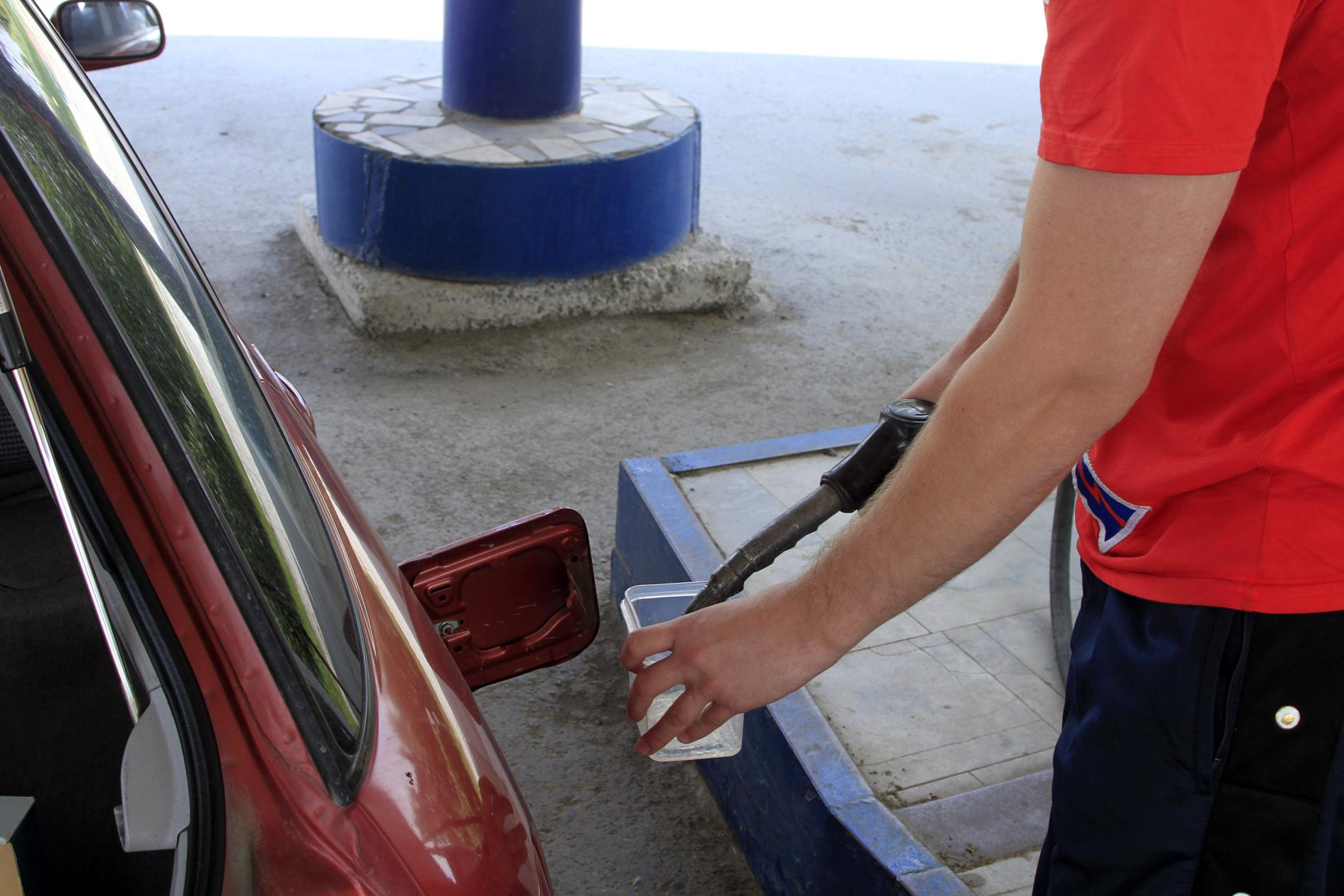 Лабораторная работа: ищем некачественный бензин на АЗС города