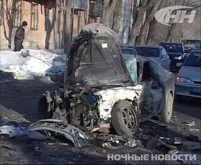ДТП со скорой на Химмаше устроила сотрудница полиции