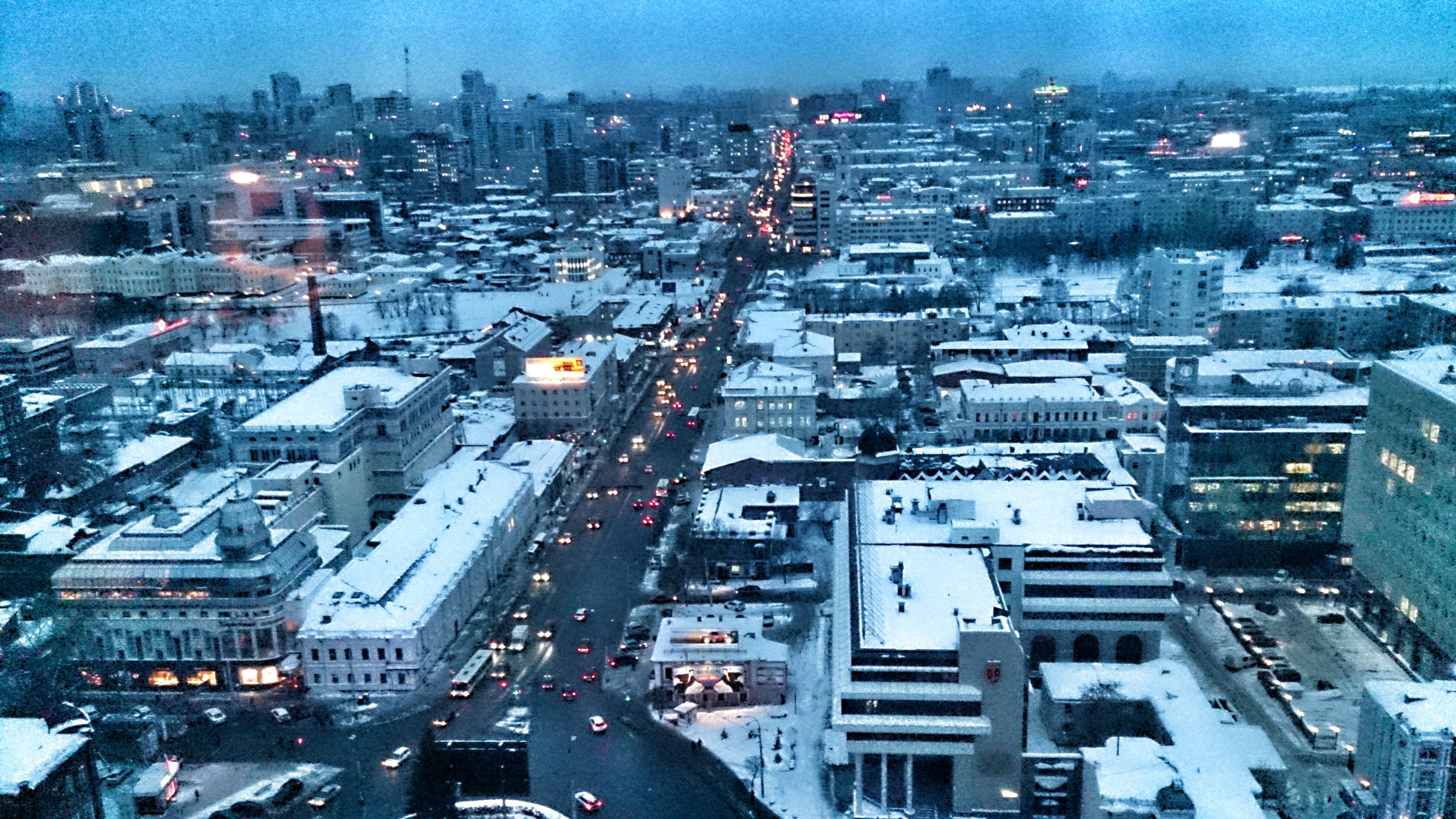 Пустота и тревога: центр Екатеринбурга пуст, как в час ночи