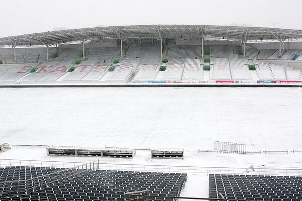 Футбольному «Уралу» разрешили сегодня играть на Центральном стадионе