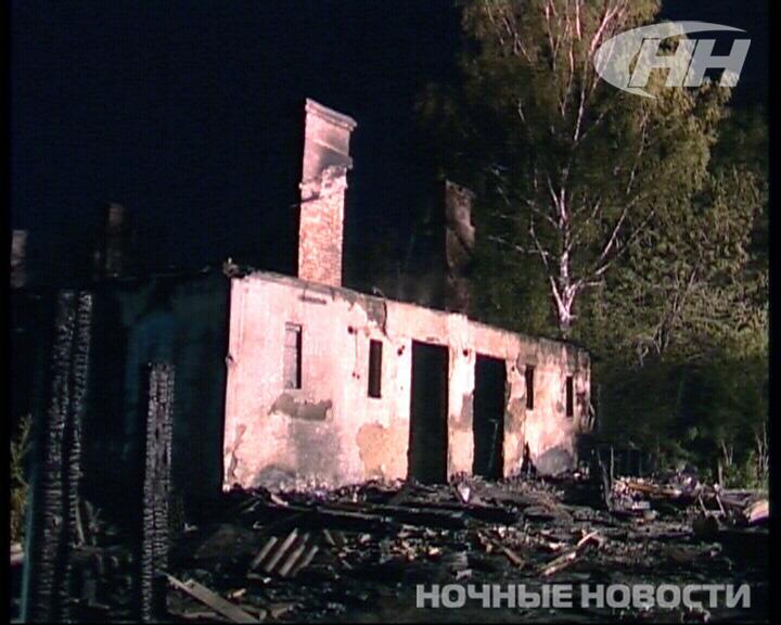 Один человек погиб в результате пожара в поселке Чапаева