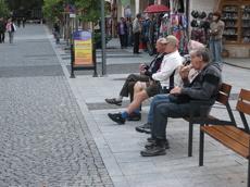 В Екатеринбурге будет меньше рекламных скамеек