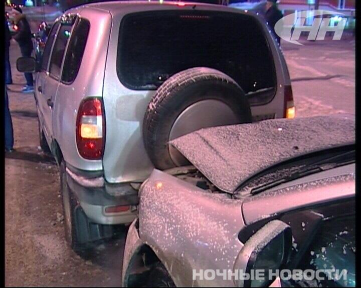 Массовое ДТП произошло на улице Халтурина