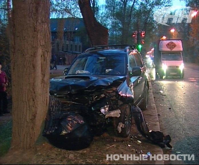 В аварии на Шаумяна пострадали мужчина и ребенок