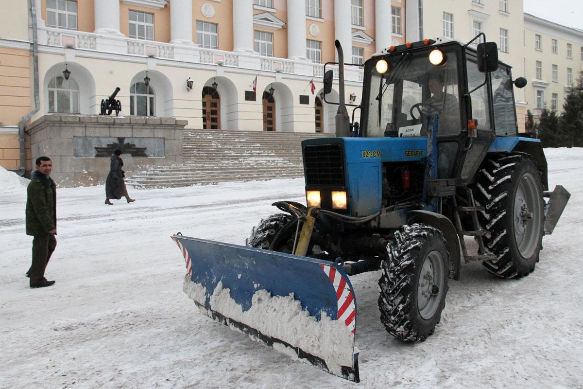 Мэрия заверяет: снегопады не застанут коммунальщиков врасплох