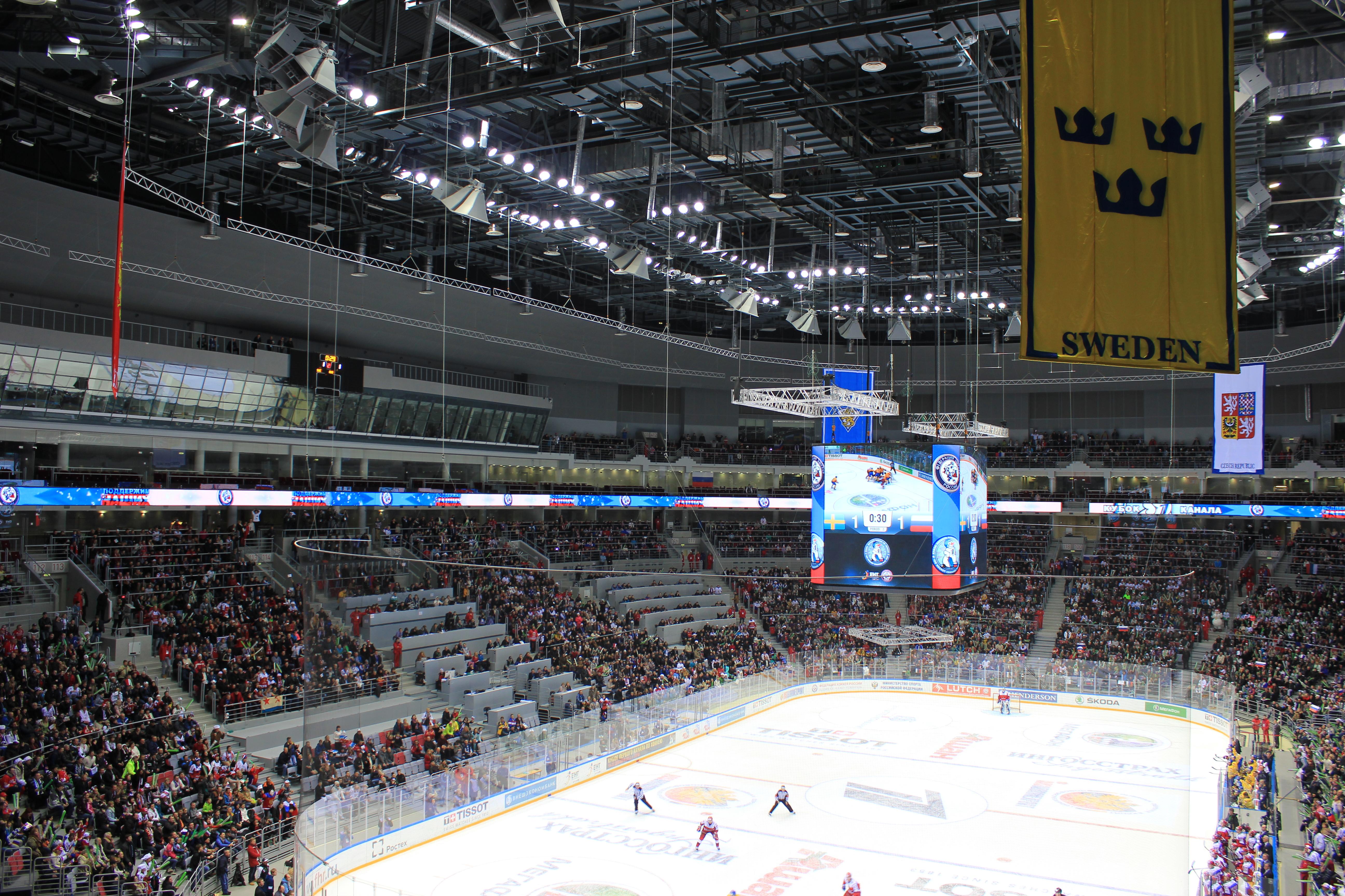 Сборная России по хоккею обыграла шведов на последнем предолимпийском турнире