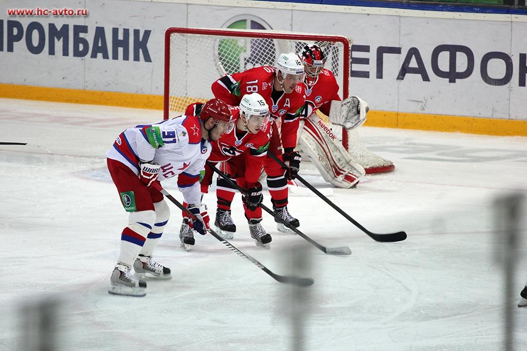 Победной серии не получилось: «Автомобилист» уступил в матче-триллере ЦСКА