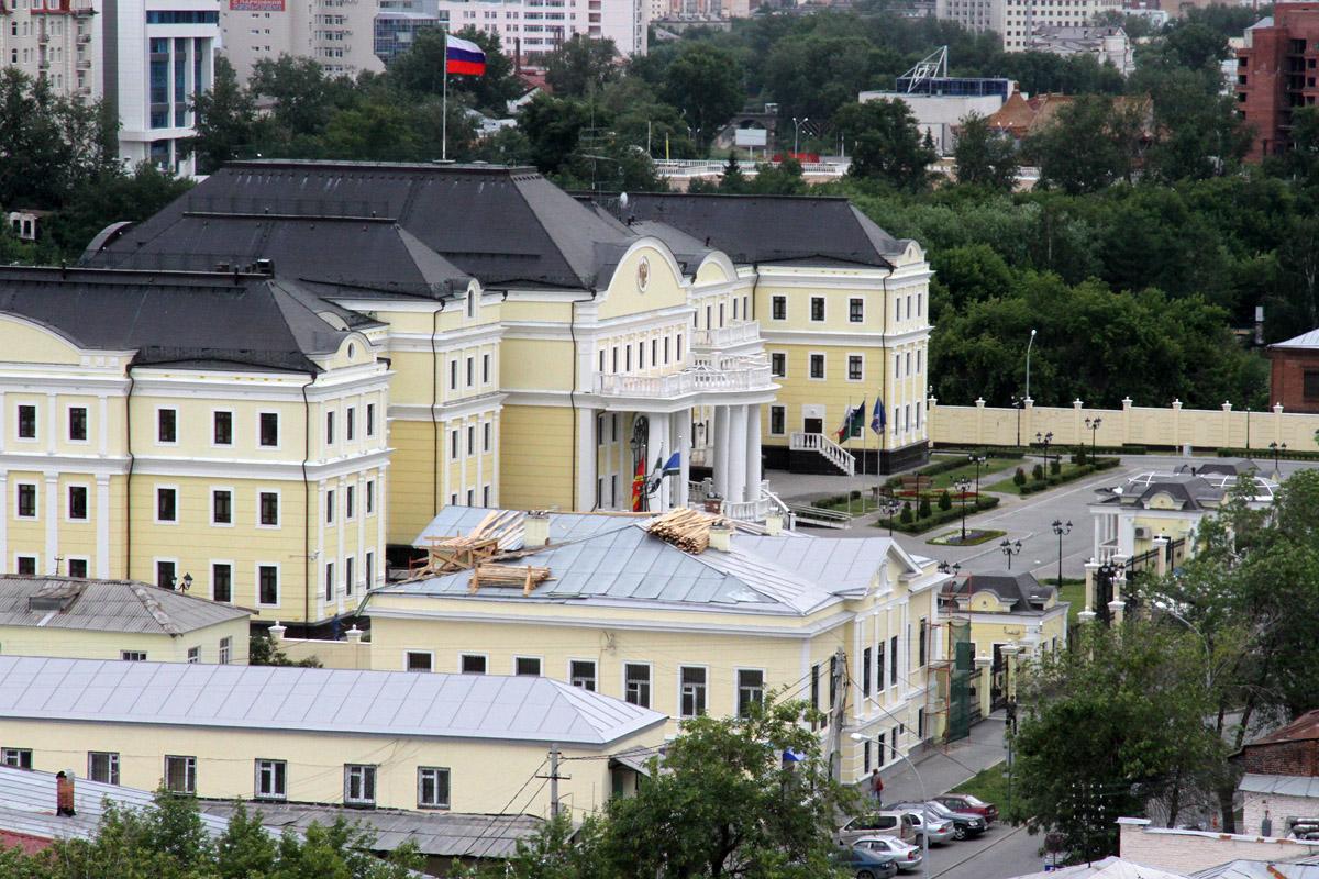 Главным федеральным инспектором области стал Березовский