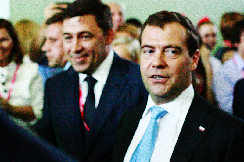 Дмитрий Медведев наконец-то посетил «Иннопром»