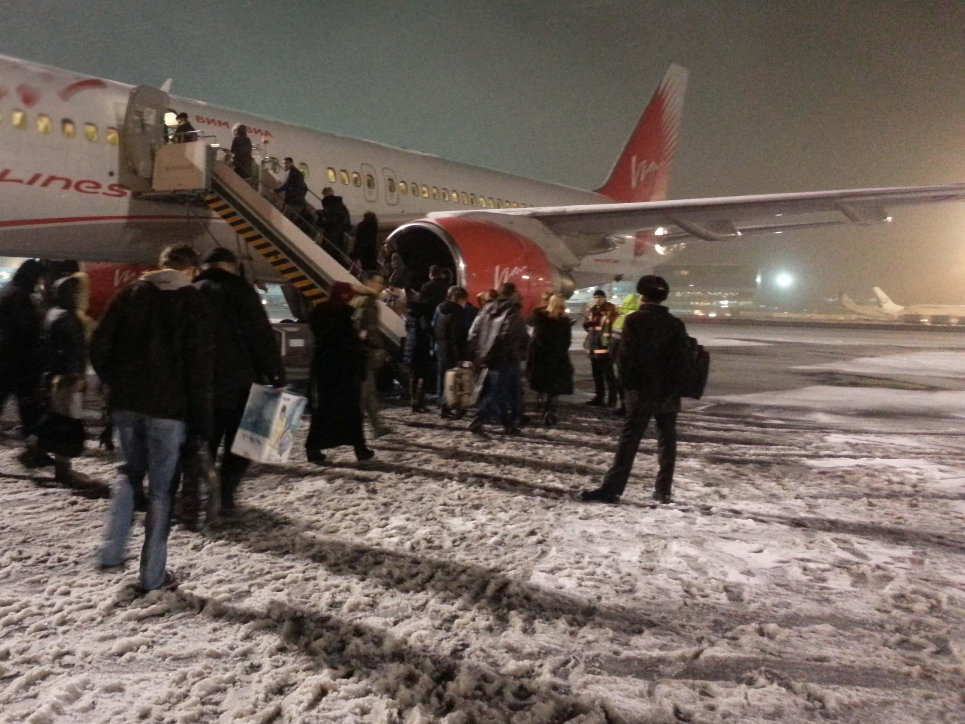 Рейс перед Рождеством из Москвы в Екатеринбург: портрет заложников аэропорта