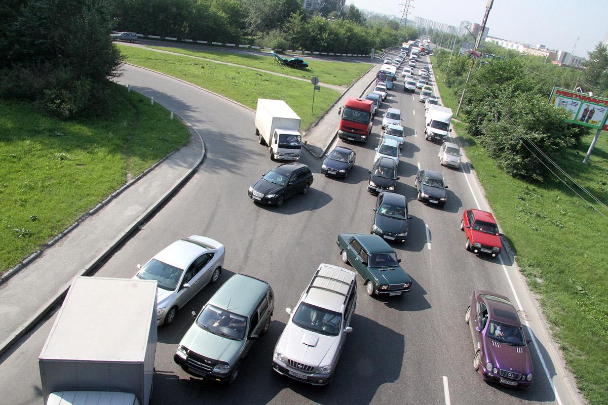 Пробки онлайн: как добраться до работы 9 сентября