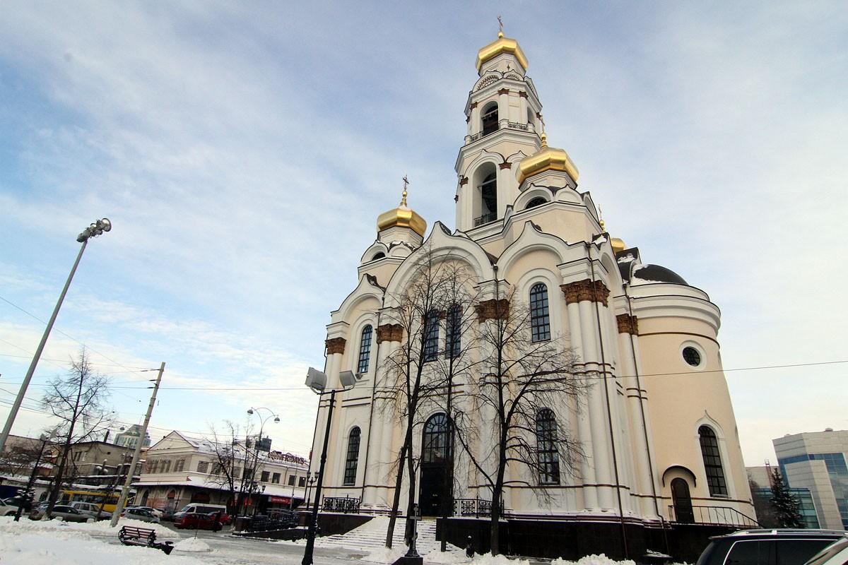 В Крещение в центре Екатеринбурга установят бассейн
